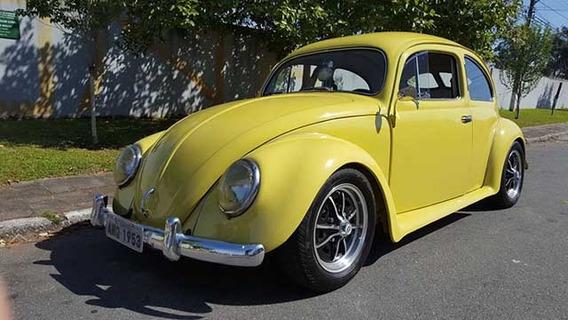 Volkswagen Fusca 1953 Stree Hot Ac/ Troca Por Antigos