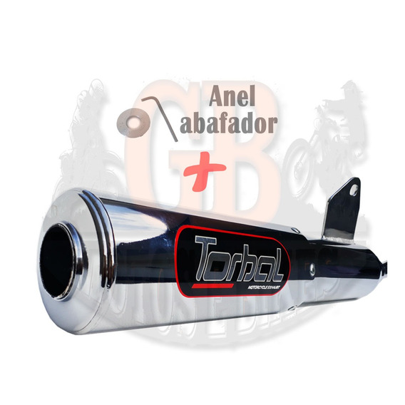 Escape Esportivo Torbal Dafra Speed 150 - Todas + Abafador