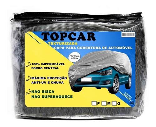 Capa Para Carro Impermeável Proteção Raios Solares Uv Chuva