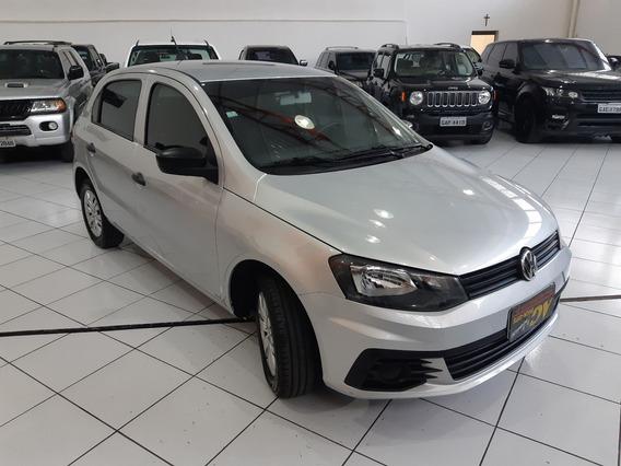 Vw Volkswagen Gol Trendline 1.0 Flex 4p Completo Com Ar 40km