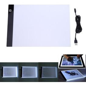 Mesa A4 Desenho Led 3 Intensidade Luz / Transposição Profis