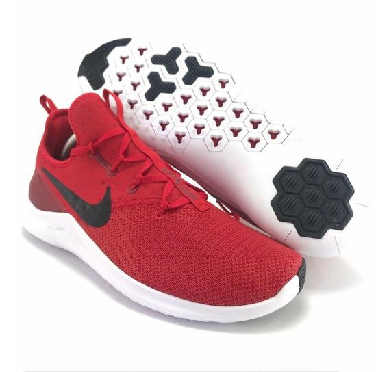 Tênis Nike Free Tr 8 Masculino Vermelho Treino Original