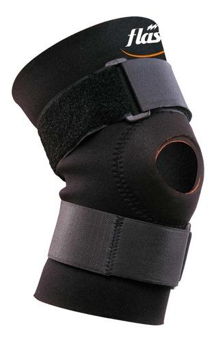 Rodillera Flash Ajust. Velcro Y Rótula Libre Limita Flexión