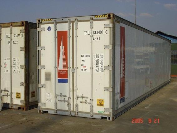 Containers De 40 Pies, Refrigerados Y Secos