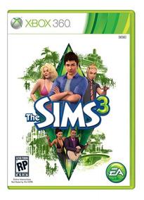 Jogo The Sims 3 (novo) Xbox 360