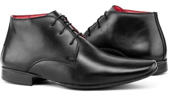 Sapato Botina Casual Social Masculino