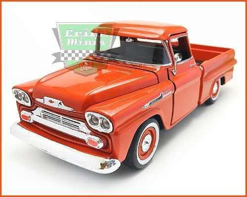 Chevrolet Apache Pick-up 1958 - Escala 1/24
