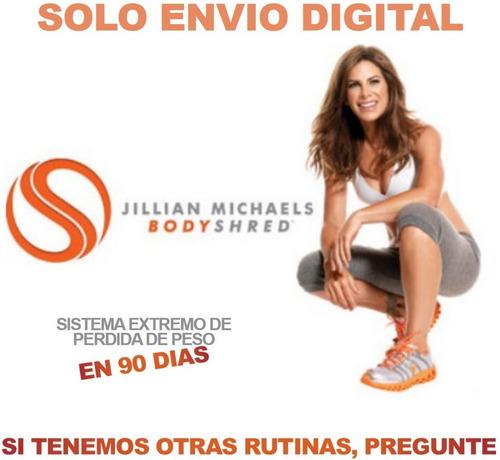 Jillian Michaels Bodyshred Fitness Ejercicios Con Pesas