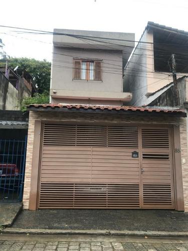 Sobrado Em Jardim Artidoro, Guarulhos/sp De 160m² 3 Quartos À Venda Por R$ 650.000,00 - So747264