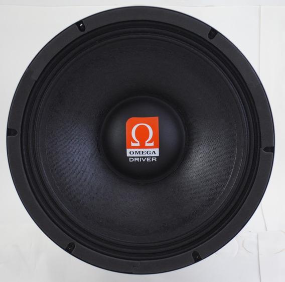 Alto-falante Médio Omega Driver Vocal 100w Rms 10 Polegadas