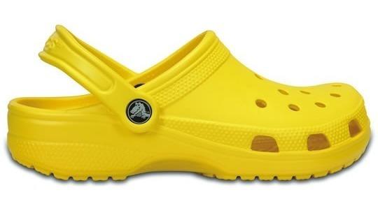 Zapato Crocs Caballero Classic Amarillo