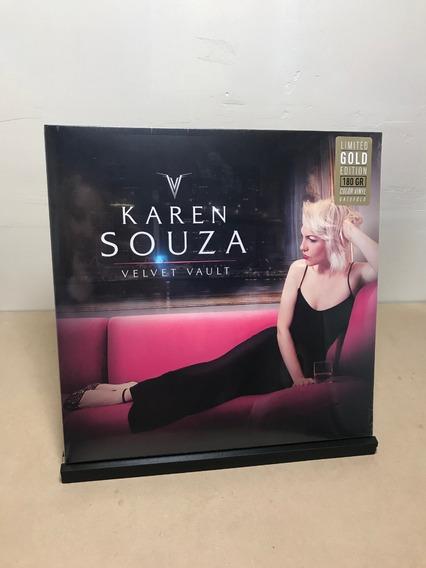 Vinilo Karen Souza - Velvet Vault (coloured Vinyl)