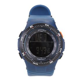 Relógio Digital Gonew Masculino - Cor Preto+marinho