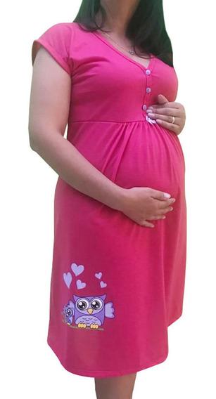 Camisola Maternidade Gestante E Amamentação 0272 0271