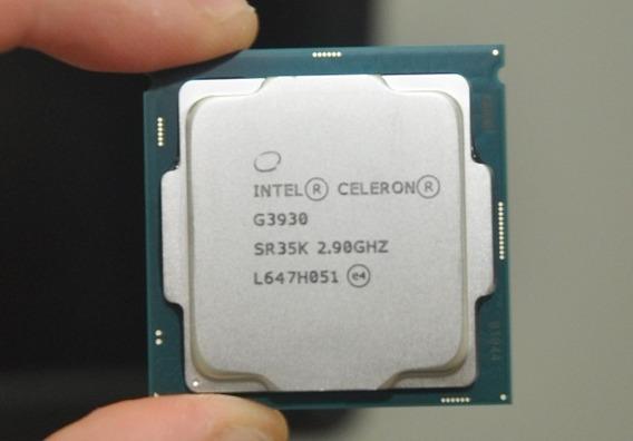 Celeron G3930 Socket 1151 2,9 Ghz Testado No Ipdt Sem Cooler