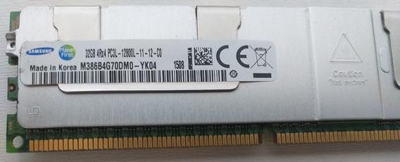Memória 32gb 4rx4 Pc3l 12800l Dell Hp Ibm M386b4g70dm0-yk04