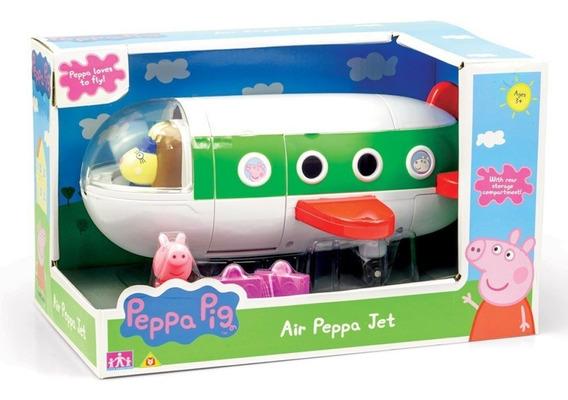 Brinquedo Avião Da Peppa E Acessórios - Peppa Pig - Sunny
