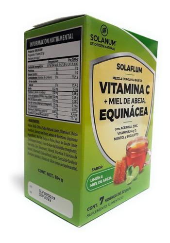 Vitamina C,equinacea  Solaflum Solanum Sobres Envio Full