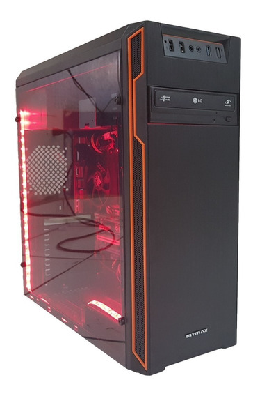 Cpu Gamer Intel / Core I5 / 8gb / 500gb / Wi-fi / Led