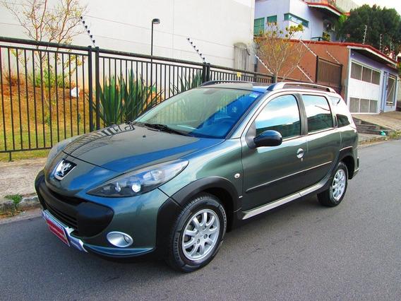 Peugeot 207 Sw 2010 1.6 16v Escapade Flex Completa Impecável