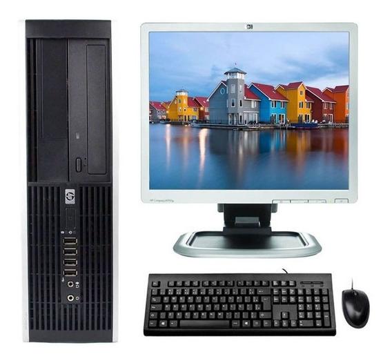 Kit Pc Cpu Hp Elite Core I3 3° 4gb 120 Ssd Monitor 17