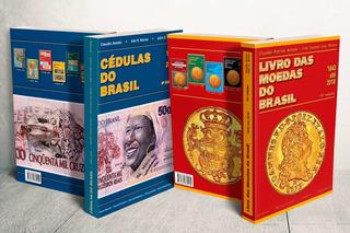 Kit Livro Cédulas Do Brasil 8º Ed+ Moedas Do Brasil 15º Ed