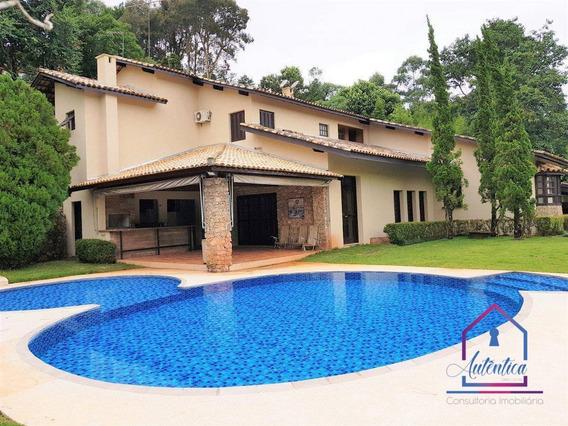 Casa Com 5 Dormitórios À Venda, 570 M² Por R$ 2.500.000,00 - Jardim Mediterrâneo - Cotia/sp - Ca0619