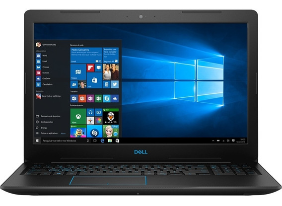 Notebook Dell G3 3579 15.6 Fhd I7-8750h 1tb 8gb Gtx 1050ti