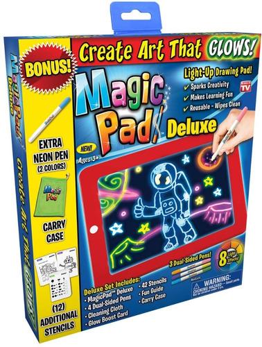 Tableta De Dibujo Con Luz Led Magic Pad, Entrega Inmediata