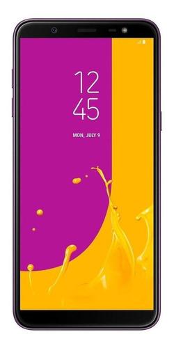 Samsung Galaxy J8 Dual SIM 64 GB Púrpura 4 GB RAM
