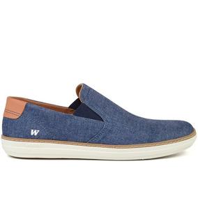 Tênis Masculino Sneaker Jeans Iate West Coast - 118641
