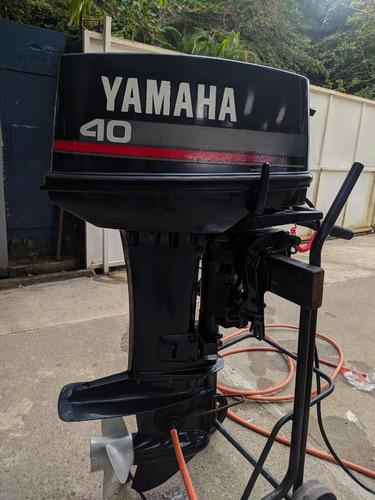 Imagem 1 de 10 de Motor De Popa Yamaha 40 Hp