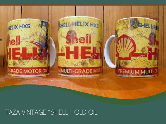 Mug Taza Shell Texaco Pemex Mobiloil Mobil Pennzoil Aceites