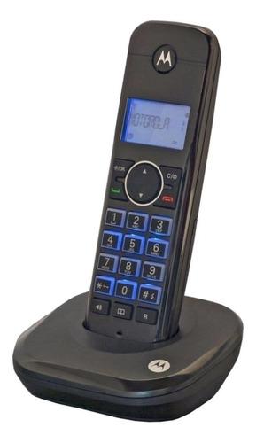 Imagen 1 de 2 de Teléfono inalámbrico Motorola MOTO550id-2 negro