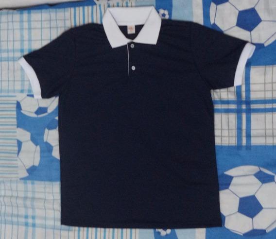 Camisa Polo Masculina Malha Piquet
