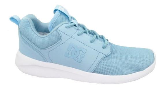 Tênis Dc Midway Feminino Azul Bebê Esportivo Frete Grátis
