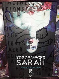 Trece Veces Sarah. José Donayre. Ediciones Altazor