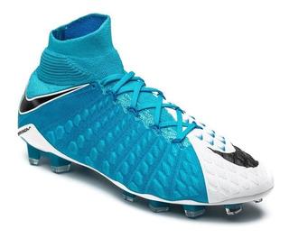 separation shoes 98893 47465 Botines Nike Hypervenom Celeste - Deportes y Fitness en ...