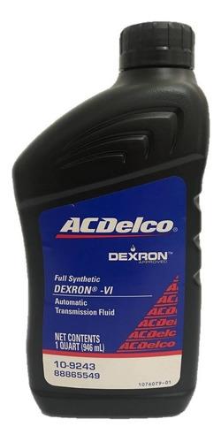 Aceite Dexron 6 Vi Marca Acdelco Cajas Automaticas