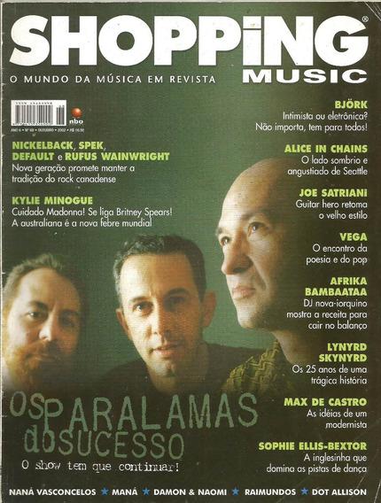Revista Shopping Music 68/2002 - Paralamas/raimundos