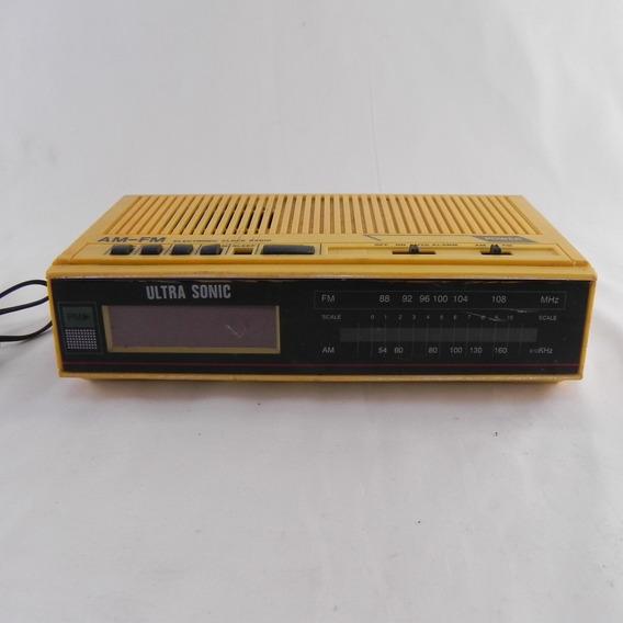 Rádio Relógio Casio Nv-2785 - Usado C/ Defeito