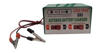 Cargador De Bateria Para Autos Y Motos 12v / 6v - 8ah