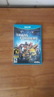 Juego De Transformers Para Wiiu