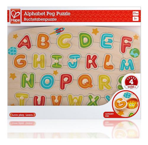 Hape Rompecabezas Alfabeto