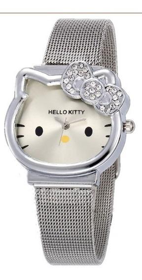 Reloj De Dibujos Animados Hello Kitty