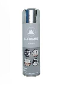 Tinta Spray Cromada - Tinta Metálica Colorart 300ml