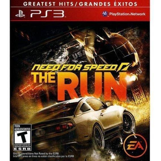 Jogo Need For Speed - The Run (novo) Ps3