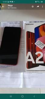Celular Samsung A20 S Vermelho