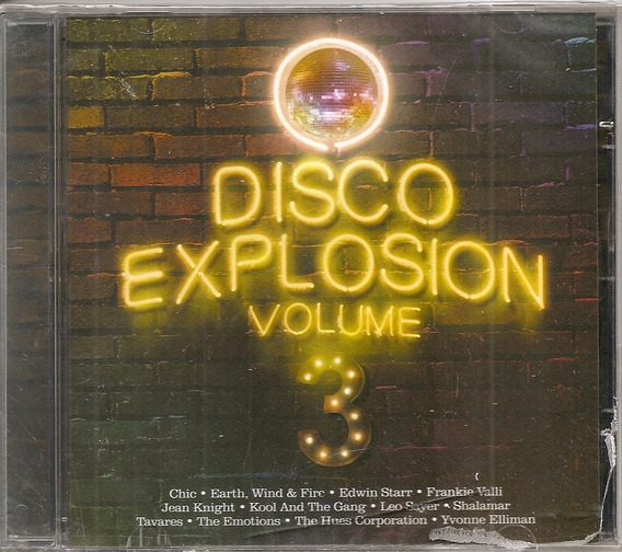 Cd Artistas Diversos Disco Explosion Volume 3