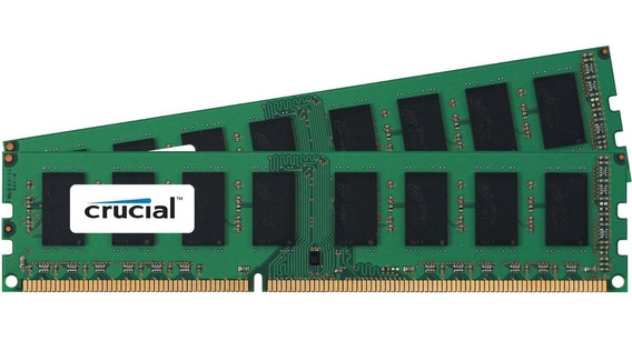 Memoria Crucial Ddr3 8gb 1600mhz (pc3-12800) Cl11 13